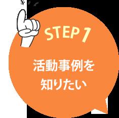 STEP1 活動事例を知りたい